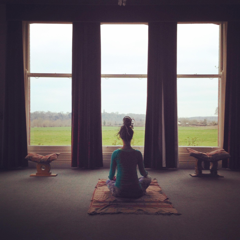 The elegant meditation space