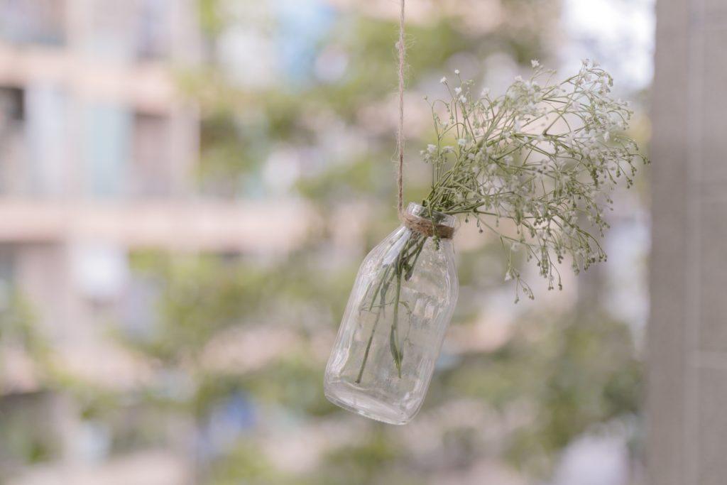 minimalism bottle vase
