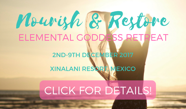 nourish restore mexico retreat elemental goddess
